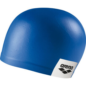 arena Logo Moulded Swimming Cap, blue